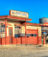 Bob's Hi-Way Service Garage (Club Ed movie set), Lancaster, California, U.S.
