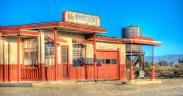 Bob's Hi-Way Service Garage (Club Ed movie set), Lancaster, California, U.S.