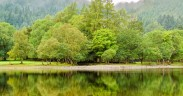 View of Loch Lubnaig, Scotland, U.K.