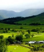 Grasmere Village, Lake District, Cumbria, England, UK